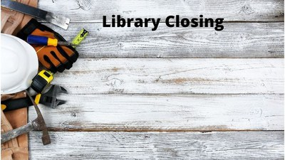 Library Closing for Labor Day Weekend