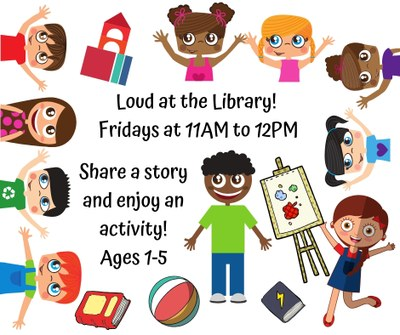 Loud @ the Library Playgroup