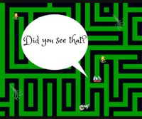 Ages 4+  Navigate our life sized maze - watch out!  Here be monsters!
