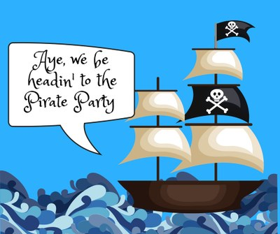 Summer Reading Kick Off!  Pirate Party