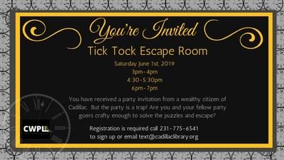 Tick Tock Escape Room