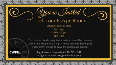 Tick Tock Escape Room