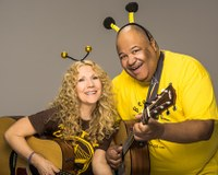 Ages 4+  Stop by the Rotary Arts Pavilion at 3:15pm for an amazing children's music concert!  Sing, dance, and have a blast with Wendy & DB.