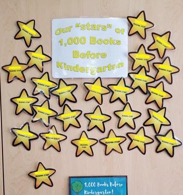 1000 Books Star Readers