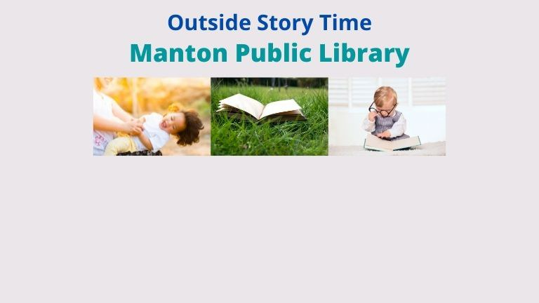 Manton Public Library Outside Storytime