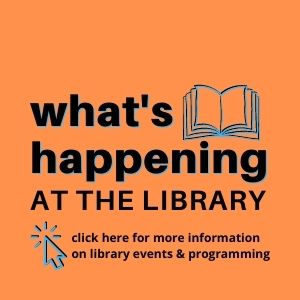 Programs and Events at the Cadillac Library